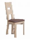 Chaise chêne - Assise Marron